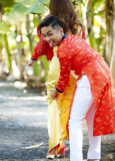 Phat ghen cach Phan Hien cham soc Khanh Thi - Anh 11