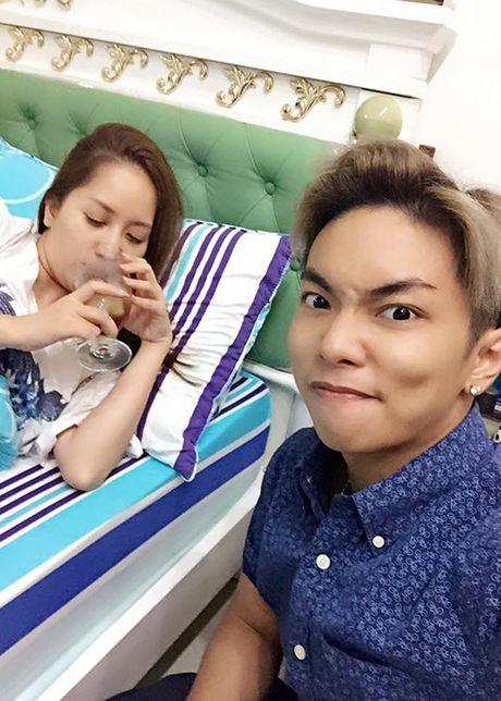 Phat ghen cach Phan Hien cham soc Khanh Thi - Anh 6