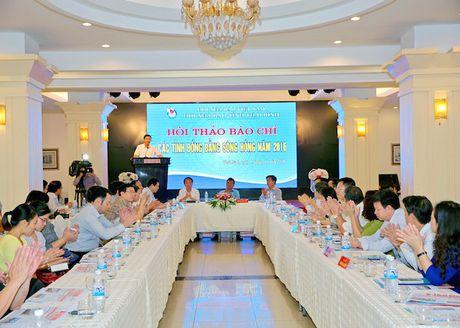 Hoi thao bao chi cac tinh dong bang song Hong nam 2016 - Anh 1