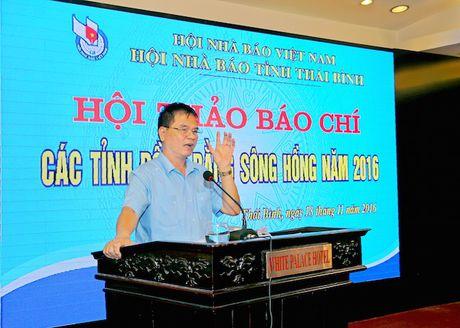 Hoi thao bao chi cac tinh dong bang song Hong nam 2016 - Anh 2