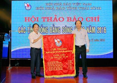 Hoi thao bao chi cac tinh dong bang song Hong nam 2016 - Anh 3