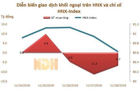 Tuan tu 14 - 18/11: Khoi ngoai ban rong tro lai hon 612 ty dong - Anh 3