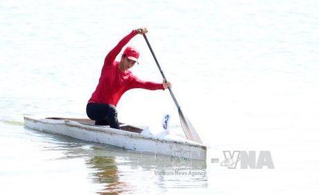 Ha Noi dan dau giai Dua thuyen Rowing va Canoeing - Anh 1