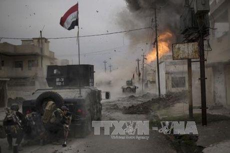 An ninh Iraq tieu diet 43 phan tu IS trong chien dich Mosul - Anh 1