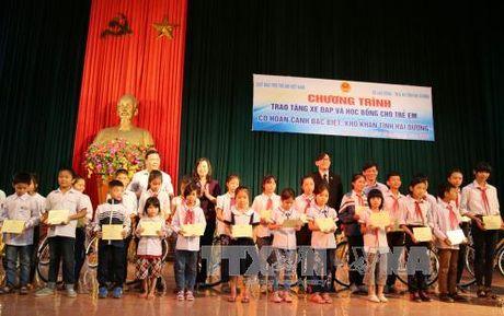 Hai Duong ho tro tre em co hoan canh kho khan - Anh 1