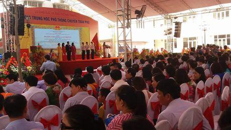 THPT Tran Phu (Hai Phong) : 30 nam khang dinh thuong hieu giao duc - Anh 1