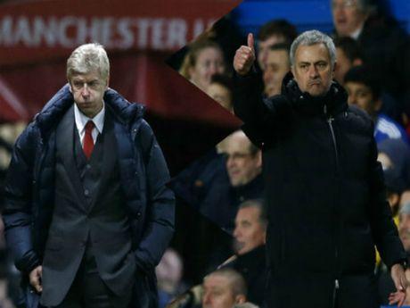 "MU dau Arsenal: Mourinho lai ""mia mai"" Wenger - Anh 1"