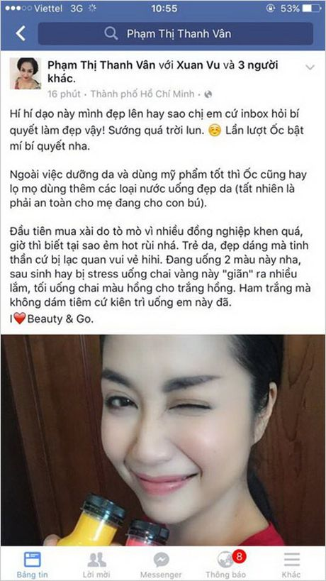Oc Thanh Van trung thanh voi lam dep an toan tu ben trong - Anh 2