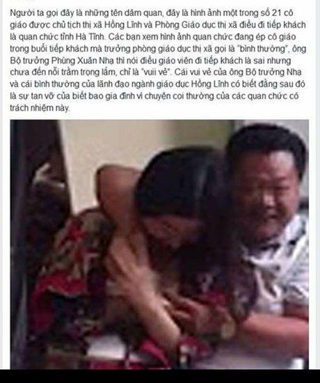 Bo TT&TT yeu cau lam ro viec tung tin that thiet len Facebook - Anh 1
