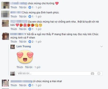 Lam Truong xac nhan vo mang thai 6 thang - Anh 2