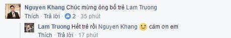 Lam Truong xac nhan vo mang thai 6 thang - Anh 3