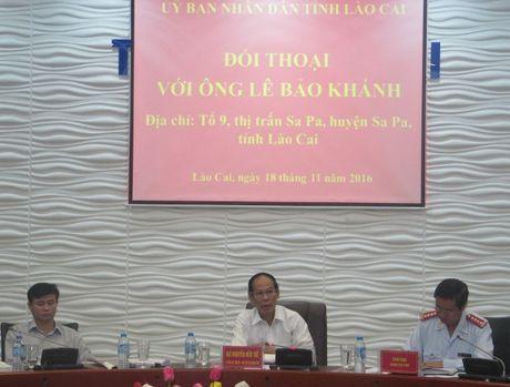 UBND tinh Lao Cai doi thoai voi cong dan - Anh 1