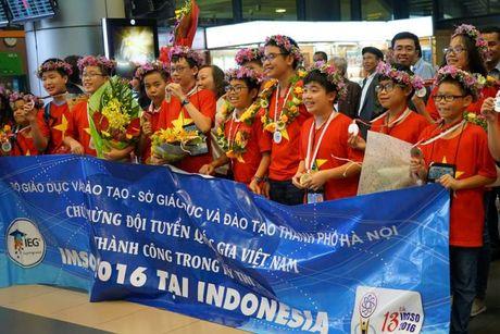 Gap go 'cau be vang' Olympic Toan va Khoa hoc quoc te IMSO - Anh 1