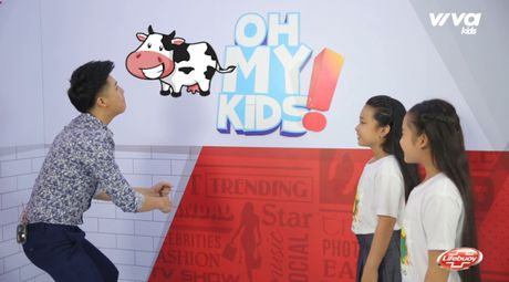 Oh My Kids! #11: Noo Phuoc Thinh 'phat met' vi 2 co tro cung Mai Anh, Khanh Ngoc - Anh 4