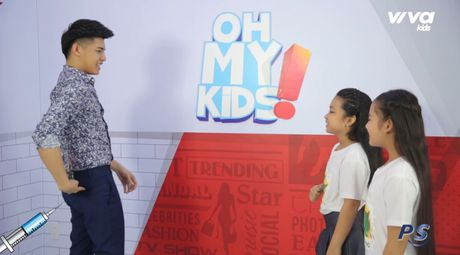 Oh My Kids! #11: Noo Phuoc Thinh 'phat met' vi 2 co tro cung Mai Anh, Khanh Ngoc - Anh 5