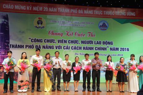 Hon 3.000 CCVCLD TP. Da Nang tham du cuoc thi 'CCVCNLD TP. Da Nang voi Cai cach hanh chinh' - Anh 1