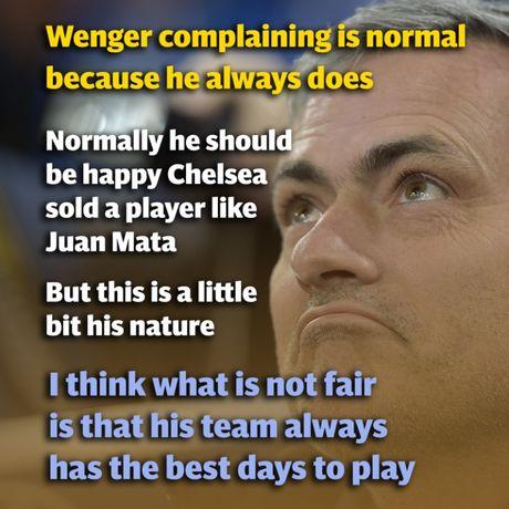 Nhung lan dau 'vo mom' noi tieng giua Arsene Wenger va Jose Mourinho - Anh 10