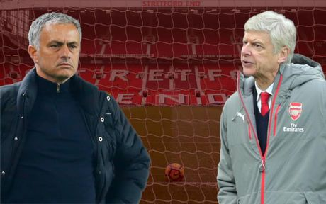 Nhung lan dau 'vo mom' noi tieng giua Arsene Wenger va Jose Mourinho - Anh 1