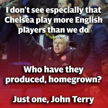Nhung lan dau 'vo mom' noi tieng giua Arsene Wenger va Jose Mourinho - Anh 2