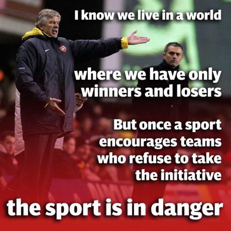 Nhung lan dau 'vo mom' noi tieng giua Arsene Wenger va Jose Mourinho - Anh 3