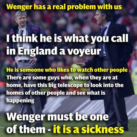 Nhung lan dau 'vo mom' noi tieng giua Arsene Wenger va Jose Mourinho - Anh 4