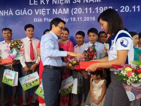 Pho Thu tuong Vu Duc Dam du Le ky niem Ngay Nha giao VN tai truong vung sau - Anh 4