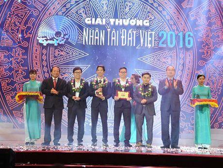 Nhan tai Dat Viet nam 2016 co 2 giai Nhat linh vuc CNTT - Anh 1