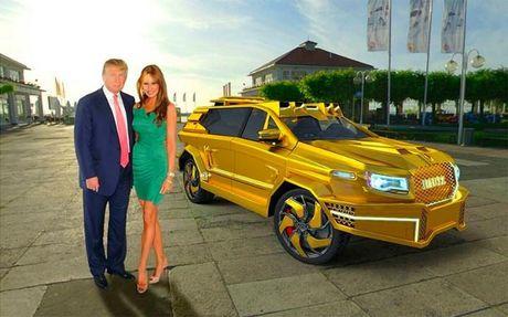 De xuat sieu xe ma vang cho ong Trump ngay nham chuc - Anh 1