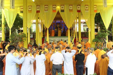 Lanh dao tinh Khanh Hoa vieng Pho Phap chu Thich Thien Binh - Anh 7