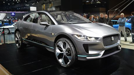 Jaguar I-Pace concept: Tuong lai cua SUV dien - Anh 1