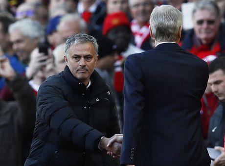 Mourinho tranh mat Wenger sau tran hoa that vong - Anh 1