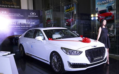 Hyundai Thanh Cong trao thuong Genesis G90 cho golf thu - Anh 3