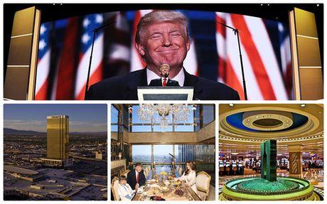 Nhung tai san 'boc vang' cua ty phu Donald Trump - Anh 1