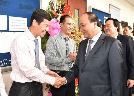 Thu tuong phat bieu chuc mung Ngay Nha giao Viet Nam tai DHQG TPHCM - Anh 1