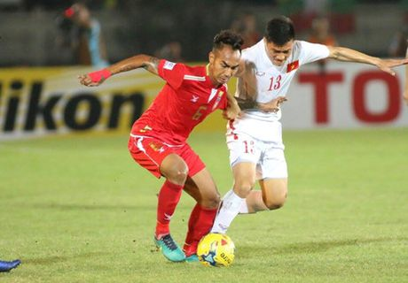 DT Viet Nam ha guc Myanmar nho 'duong kiem' Xuan Truong - Anh 1