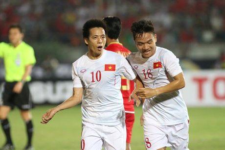 DT Viet Nam ha guc Myanmar nho 'duong kiem' Xuan Truong - Anh 2