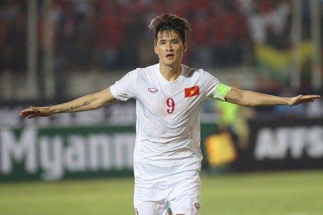 DT Viet Nam ha guc Myanmar nho 'duong kiem' Xuan Truong - Anh 3