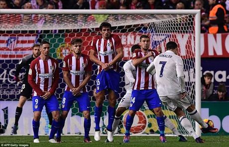 Atletico Madrid 0-3 Real Madrid: Derby nhuom mau...Ronaldo - Anh 2