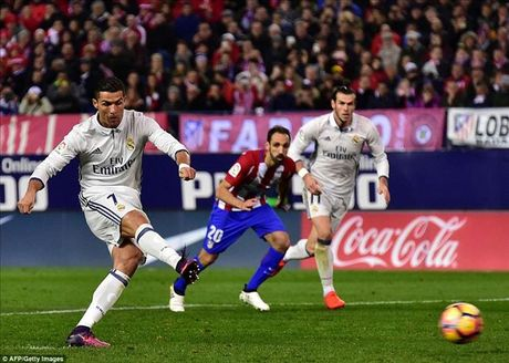 Atletico Madrid 0-3 Real Madrid: Derby nhuom mau...Ronaldo - Anh 3