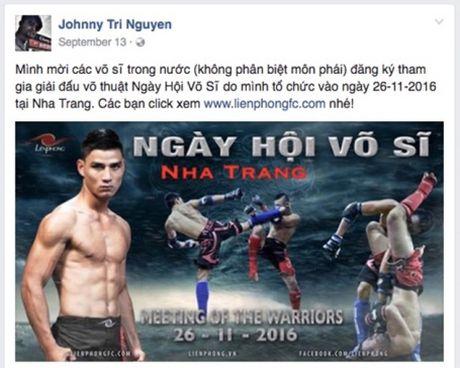 So VH&TT Khanh Hoa: Se xu ly nghiem neu Johnny Tri Nguyen to chuc thi dau MMA - Anh 6