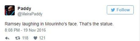 Sao Arsenal khien CDV 'phat cuong' vi dam 'cuoi vao mat Mourinho' - Anh 3