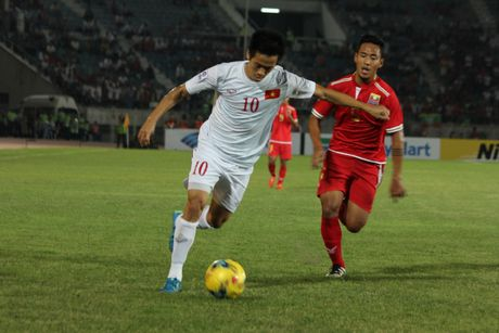 DT Viet Nam 2-1 DT Myanmar: Nguoi hung Cong Vinh - Anh 2