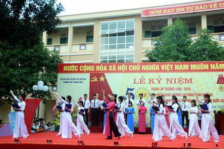 Phu Tho: Truong THPT Thanh Thuy don nhan Huan chuong Lao dong hang Nhat - Anh 5