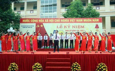Phu Tho: Truong THPT Thanh Thuy don nhan Huan chuong Lao dong hang Nhat - Anh 7