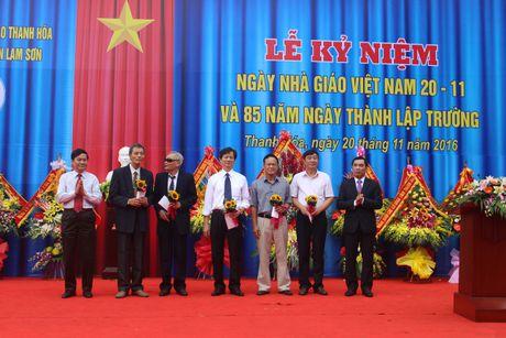 Thanh Hoa: Ky niem 85 nam thanh lap Truong THPT chuyen Lam Son - Anh 1