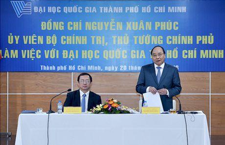 Thu tuong: DHQG TPHCM phai la noi hoi tu cua van hoa, tri thuc Viet Nam - Anh 1