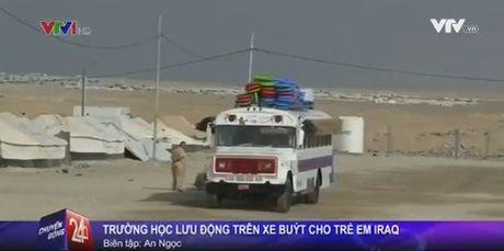 Truong hoc luu dong cho tre em Iraq - Anh 1
