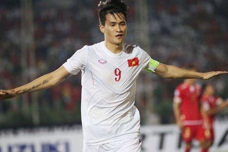 Ghi ban vao luoi Myanmar, Cong Vinh sanh ngang Neymar, Van Persie - Anh 1