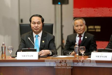 Bai phat bieu cua Chu tich nuoc tai CEO Summit 2016 - Anh 1