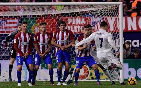 """Atletico - Real Madrid: """"Con cuong phong"""" Ronaldo - Anh 1"""